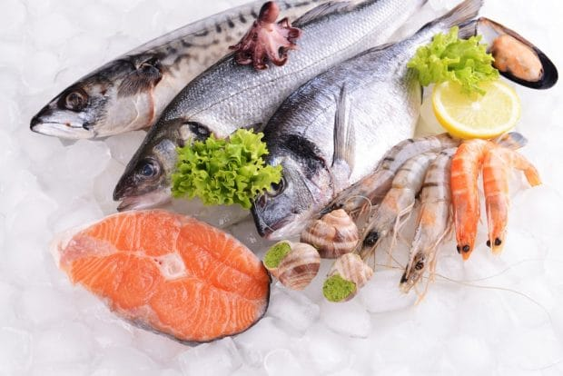 calories poissons et fruits de mer