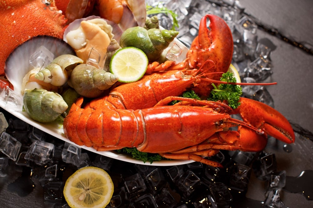 calories fruits de mer