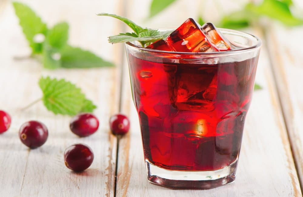 bienfaits du jus de cranberry